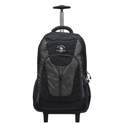 "Santa Barbara Polo & Racquet Club Nylon Backpack With Trolley (18"") SB6292/18"