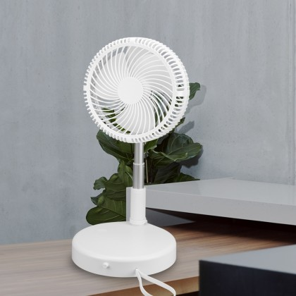 TR-F01 USB Portable Fan 4 Speed Adjustable Angle Large Capacity Battery