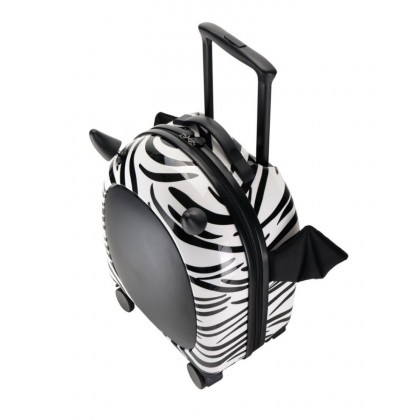 Zebra Little Devil Kids Luggage 16""
